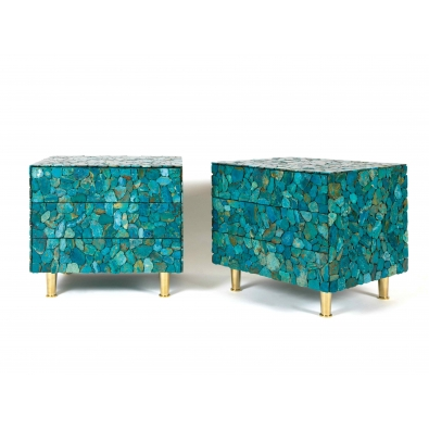 KAM TIN, Chevet en turquoise