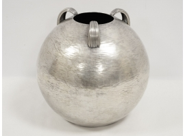 Sant'Elia - Vase en métal argenté