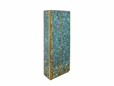 KAM TIN - Tall Turquoise Cabinet - 2014