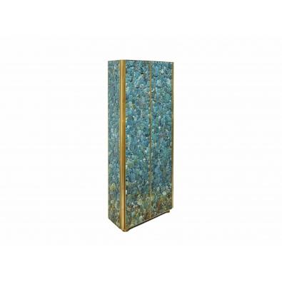 KAM TIN, Cabinet Haut en Turquoise