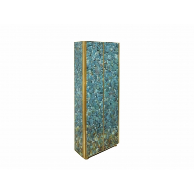 KAM TIN, Tall Turquoise Cabinet