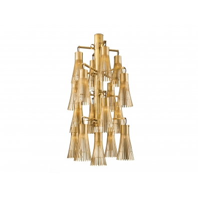 KAM TIN, Gold Chandelier