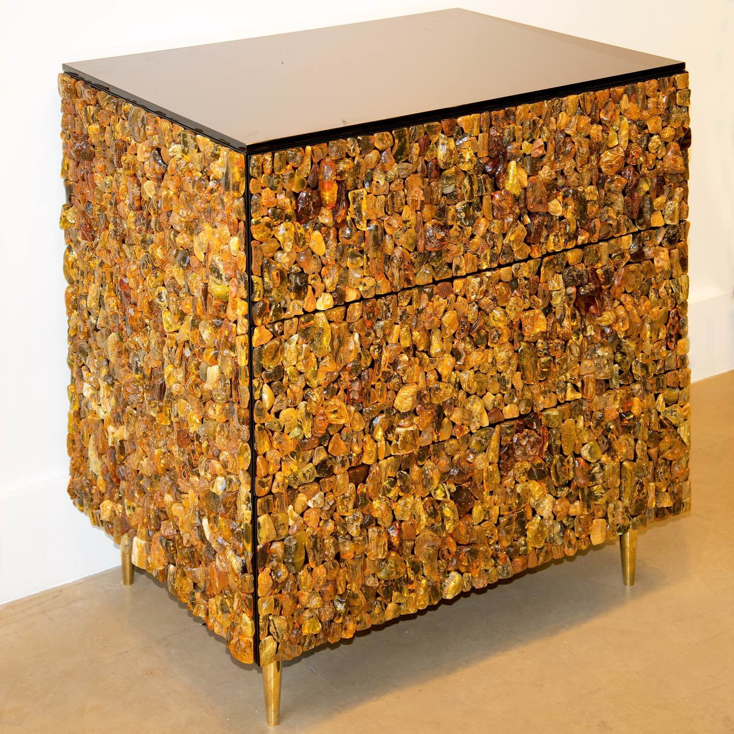 Exceptional KAM TIN, Amber Chest