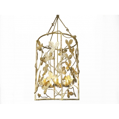 MARC BANKOWSKY, Gilded bronze lantern, 2017