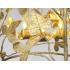 MARC BANKOWSKY, Lanterne en bronze doré, 2017