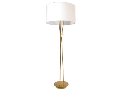 Italian floor lamp in brass - 1950's