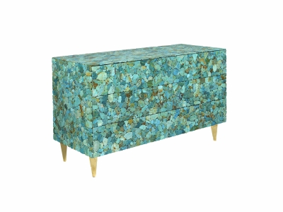 KAM TIN - Turquoise Chest - 2015