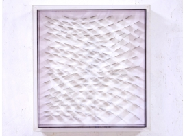 Marc Cavell - Kinetic painting - 1972