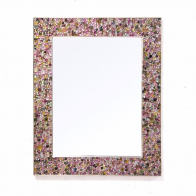 Kam Tin - Tutti Frutti mirror with Tourmaline