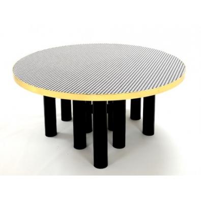 Etienne Allemeersch - Table de salle à manger rond d'os