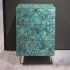KAM TIN - Turquoise night stand
