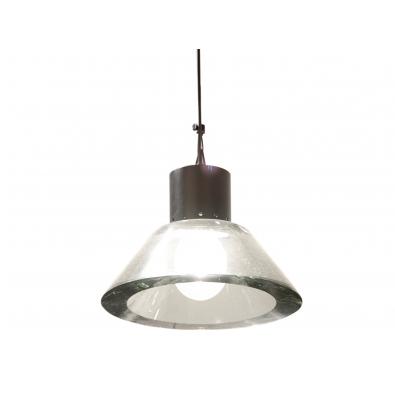 Seguso - Suspension en verre et métal laqué - Circa 1950