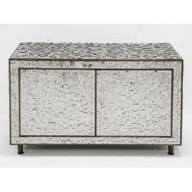 KAM TIN - Cabinet bas en Pyrite