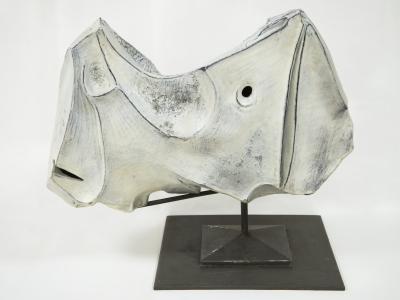 Marcello Fantoni - Rhinocéros, Céramique, Italie, 1973