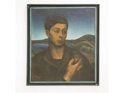 """Amerigo Canegrati - """"L'homme à la pomme"""", Italie, 1928"""