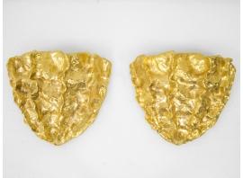 Marc Bankowsky - Paire d'appliques en bronze doré - France, 2018