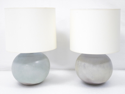 Ruelland - Pair of lamps in ceramic - circa 1960-1970
