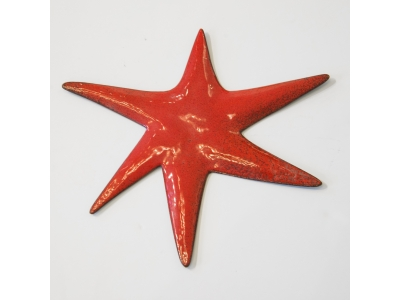 Gio Ponti - Star in enameled copper - ca 1950