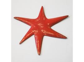 Gio Ponti - Étoile en cuivre émaillé - ca 1950