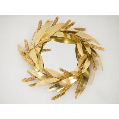 Robert Goossens - Small Crown of wheat mirror