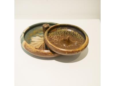 Paul Jeanneney - Coupe en céramique émaillée, circa 1900
