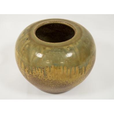 Paul Jeanneney - Vase en grès émaillé - circa 1900