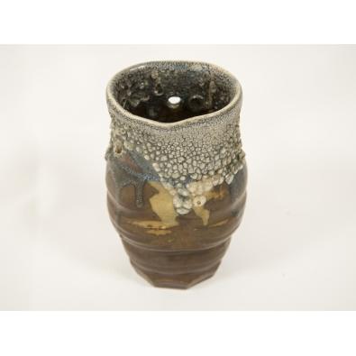 Paul Jeanneney - Vase en grès japonisant - circa 1900