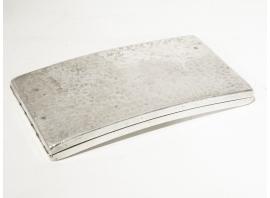 Jean Després - Etui à cigarette en métal argenté