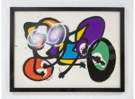 ANNE-MARIE PAUL, Gouache on paper, 1967