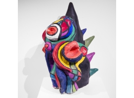 """ANNE-MARIE PAUL, """"Rejet"""", Sculpture, Circa 1970"""