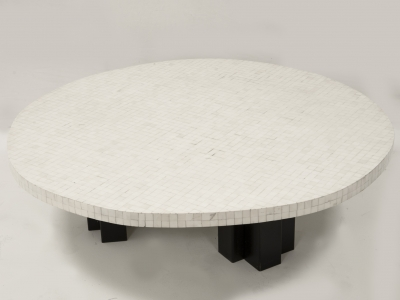 ETIENNE ALLEMEERSCH - Table basse en os
