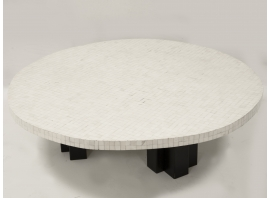 ETIENNE ALLEMEERSCH - Bone coffee table
