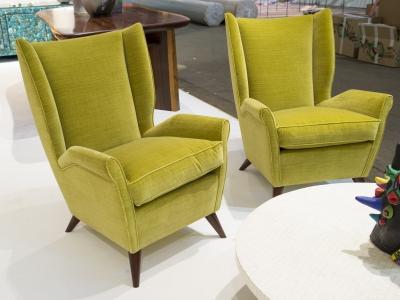 Gio Ponti - Pair of armchairs, Italy, circa 1950