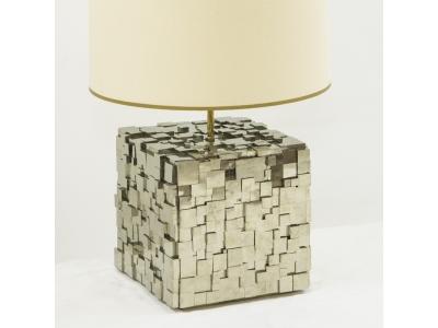 KAM TIN - Lampe en Pyrite