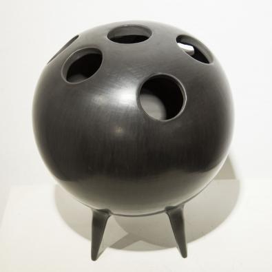 Gio Ponti & G. Rossi - Sculpture Bucchero en céramique - circa 1945