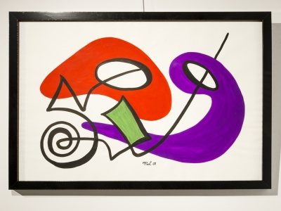 Anne-Marie Paul - Gouache on paper - 1968