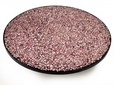 Etienne Allemeersch - Rhodochrosite coffee table - circa 1970