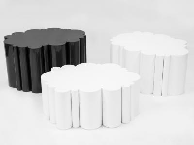 KAM TIN, Tables nuage noires et blanches, 2015