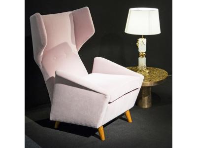 Melchior Bega, Paire de fauteuils, Italie, circa 1940-1950