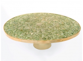 KAM TIN - Jade coffee table
