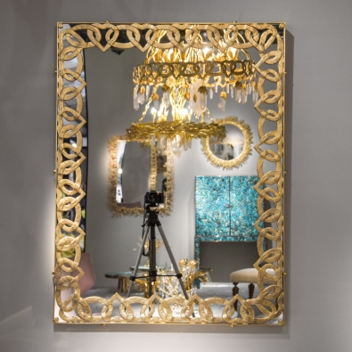Goossens Paris - Miroir Chaine Coeur