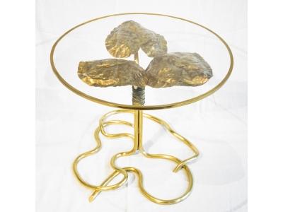 """Robert Goossens - """"Waterlilies"""" Table - circa 1980"""