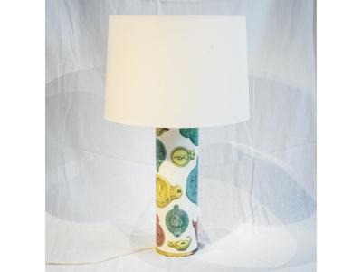 Piero Fornasetti - Tall table lamp - circa 1950