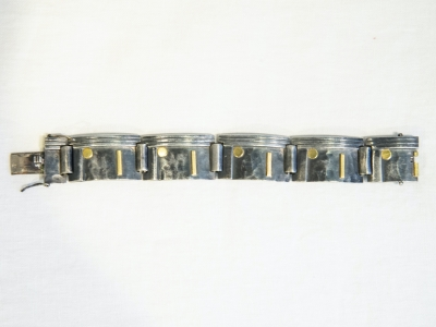 Jean Després - Bracelet en argent - circa 1950