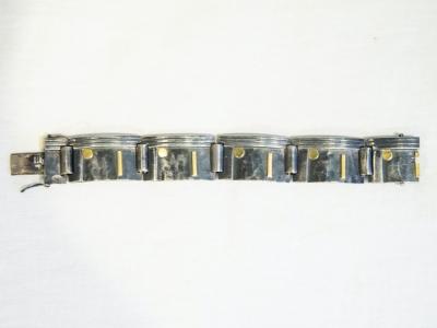 Jean Després - Silver bracelet - circa 1950