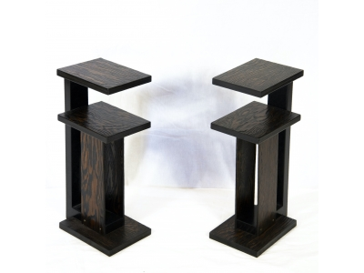 André Sornay - Pair of side tables - circa 1930