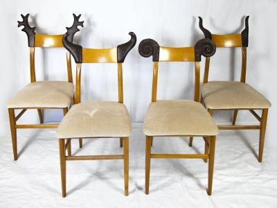 Christian Lacroix - Ensemble de 8 chaises - circa 1980
