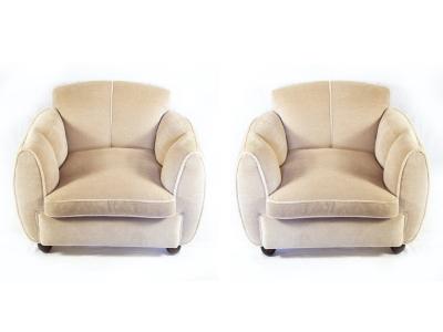 Guglielmo Ulrich - Paire de fauteuils - circa 1930