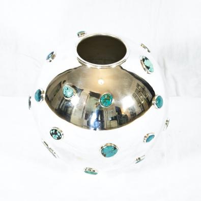 KAM TIN - Turquoise Vase - 2019