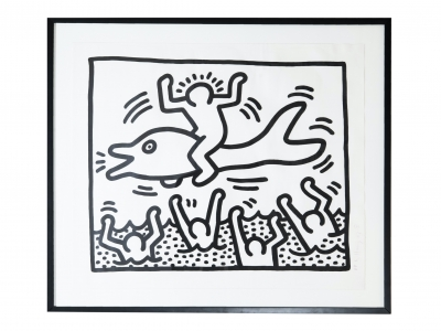 Keith Haring - Ink on paper - 1987